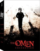 Complete The Omen Collection 1976 Damien DVD Set 2 3 4 Final Conflict Aw... - $59.39