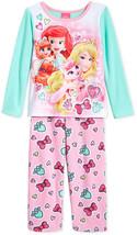 Disney Princess Two-Piece Pajama Set, Multi color, Size 2T, MSRP $44 - $15.83