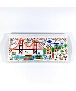 New San Francisco San Fran Ceramic Serving Tray Jewelry The Bay Area - $39.99