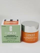 New Clinique Superdefense Broad Spect SPF25 Multi-Correcting Cream 1.7oz  - $37.31