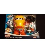 Mr Potato Head Iron Man / Tony Stark Pretend Play Playskool Hasbro Marve... - $50.00