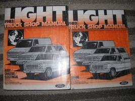1982 Ford Truck Bronco F 100 150 350 BRONCO Service Shop Manual Set W PRE DEL - $89.09