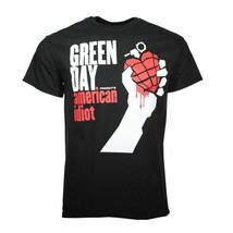 Green Day Americano Idiot Camiseta Negra Hombre Licencia Oficial Banda S... - £15.93 GBP+