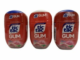 3 x Tic Tac COOL WATERMELON Sugar Free Gum 170 Pieces Each - $24.74