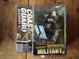 McFarlane Military Series 5 COAST GUARD Deck Gunner Caucasian action fig... - $42.74