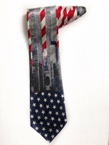 Fratello World Trade Center Twin Towns Novelty Tie Necktie