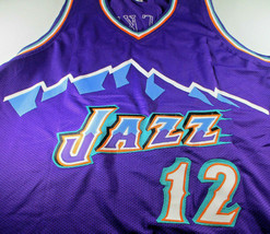 JOHN STOCKTON / NBA HALL OF FAME / AUTOGRAPHED UTAH JAZZ CUSTOM JERSEY / COA image 2