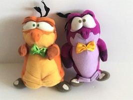 1996 Set of 2 Space Jam Nerdlucks McDonald's Happy Meal Plush Toys - $7.69