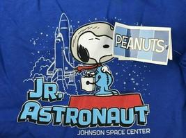 Snoopy Jr Astronaut Shirt Boys L Johnson Space Center NASA Peanuts - $14.84