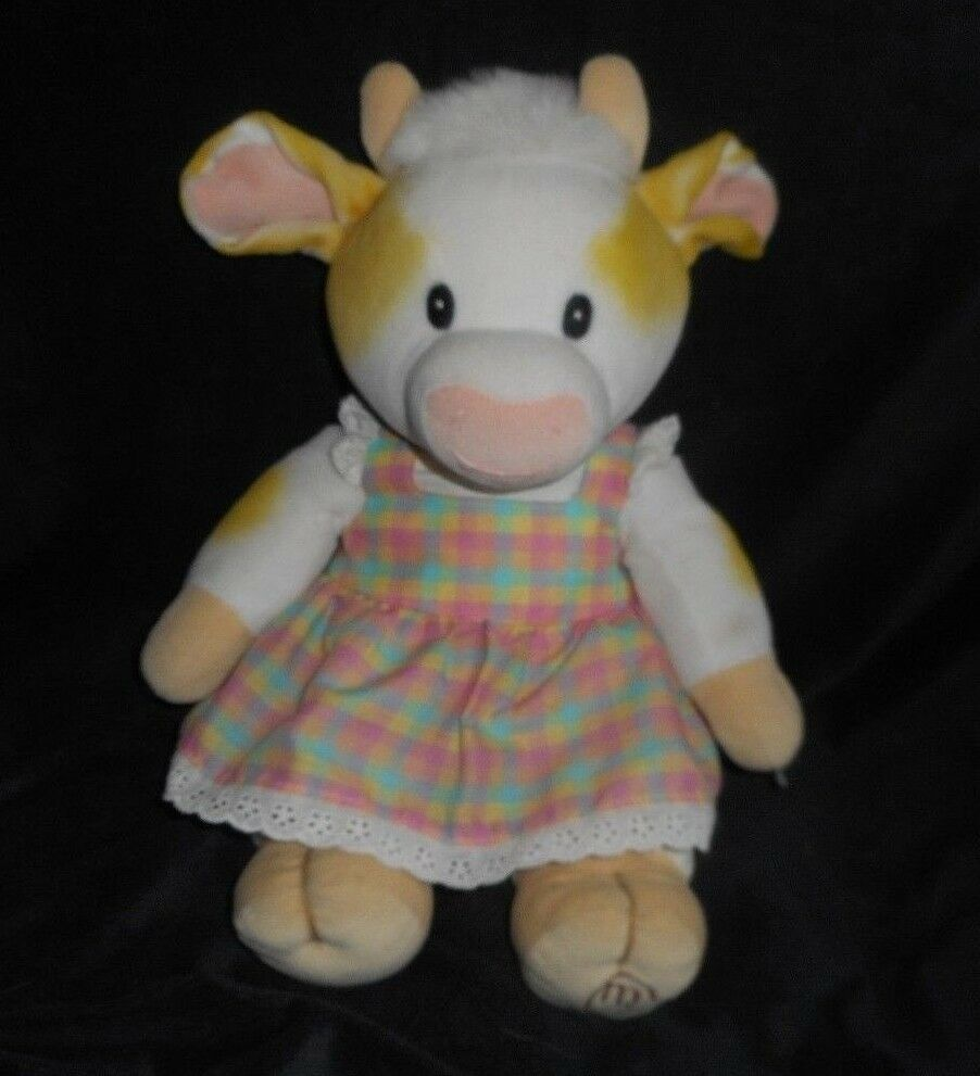 "Primary image for 14"" VINTAGE 1998 ENESCO MARY'S MOO MOOS PATTY COW GIRL STUFFED ANIMAL TOY PLUSH"