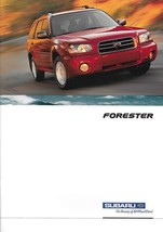 2003 Subaru FORESTER brochure catalog 03 US 2.5 X XS - $8.00