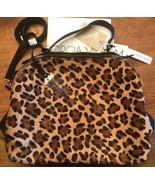 Giorgia Milani NWT Made In Italy luxury Zip Genuine Leather Satchel Bag ... - $115.83