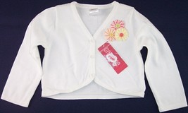 NWT Gymboree Girl's White Cropped Sweater, Freshly Picked, 3, $34.50 - $13.99