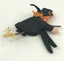Vintage Halloween Witch Boom Ugly Decoration Rice Bayersdorfer Philadelp... - $24.74