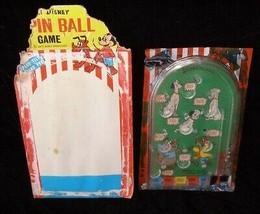 Walt Disney Pinball Game 101 Dalmatians Cinderella Mice Vintage Larami - $19.99