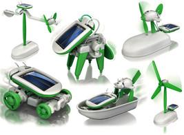 6 In 1 Solar Robot DIY Educational Toy Kit - $28.99