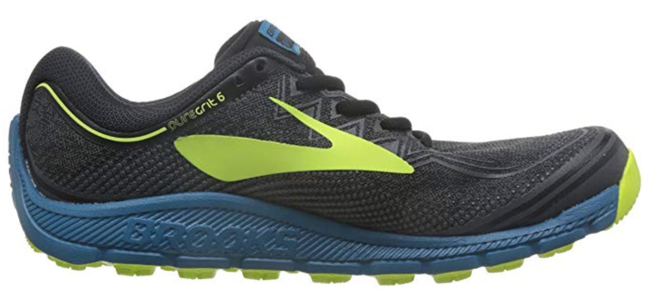 Brooks Pure Grit 6 Size US 9.5 M (D) EU 43 Men's Trail Running Shoes 1102591D003