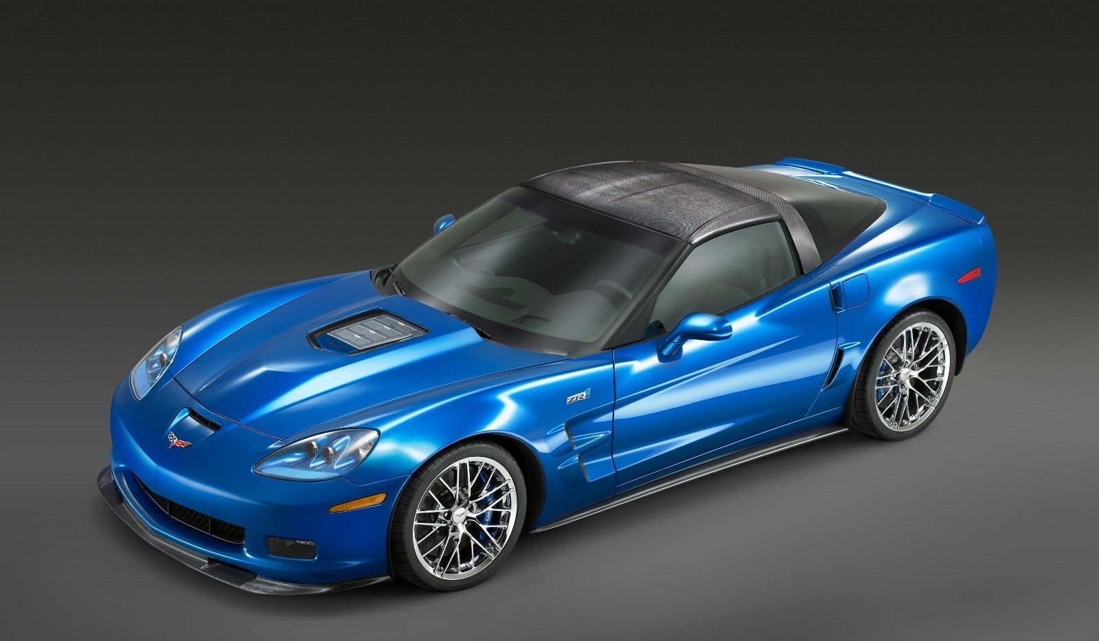 Primary image for 2015 Corvette zr1 blue 24X36 inch poster, sports car, muscle car