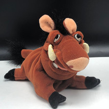 Walt Disney Store Plush Bean Bag Stuffed Animal The Lion King Pumbaa Pumba Hog - $15.84