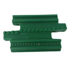 FISHER PRICE GEO TRAX GREEN GROOVE CONNECTOR TRACK ROAD PLASTIC REPLACEM... - $4.71