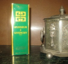 VINTAGE Givenchy Monsieur 2 EDT 100 ml 3.3 oz SPRAY *NO CAP* BNIB EXTREM... - $94.05