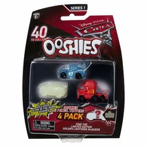 2017 Disney Pixar Cars 3 Movie Ooshies 4 Pack McQueen #43 King Mack Mystery - $4.99