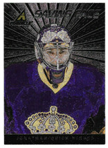 2010-11 Jonathan Quick Panini Pinnacle Saving Face Insert - Los Angeles ... - $1.28