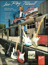Lee Roy Parnell Fender Texas Roadhouse Stratocaster guitar ad 1997 advertisement - $4.95