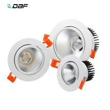 [DBF]COB LED Downlight 7W/9W/12W/15W/18W Not Dimmable LED Recessed Ceili... - €19,09 EUR