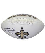 Alvin Kamara signed New Orleans Saints Logo Football #41- JSA Witnessed ... - $168.95