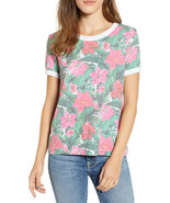 Wildfox Damen Island Holiday WSP1883E5 T-Shirt Mehrfarben M - $48.43