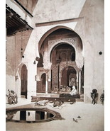 SPAIN Alhambra Palace Court of Justice - 1888 Fine Antique Print - $21.60