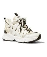 MICHAEL MICHAEL KORS Hero Mixed-Media Trainer Fashion Sneakers Size 9.5 - $100.97