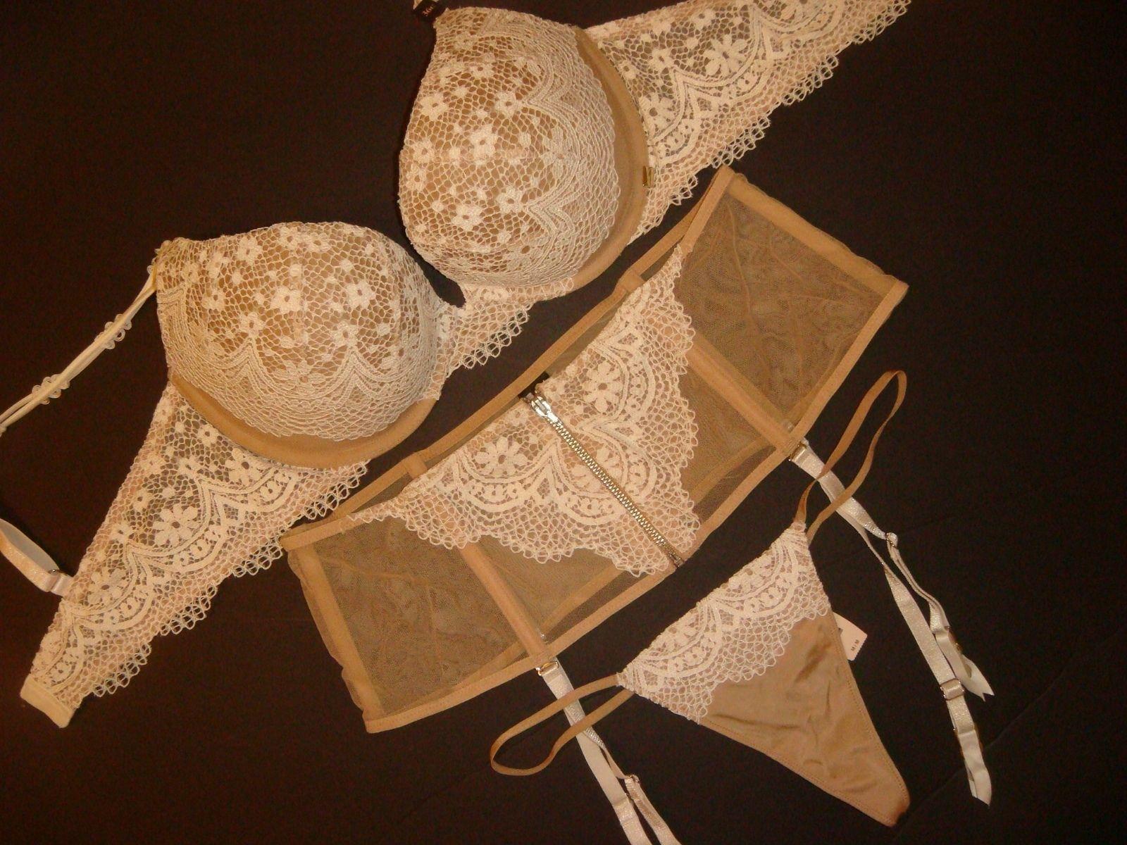 f5c483f74cb4f Victoria s Secret Bra Set+Garter 32D and 50 similar items. S l1600