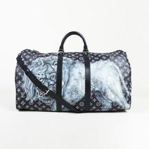 """Louis Vuitton Lion Chapman Savane Monogram """"Keepall Bandouliere 55"""" Trav... - $73.513,72 MXN"""