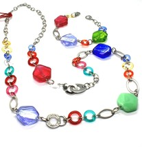 Necklace and Bracelet Antica Murrina Venezia CO525A19 Murano Glass Multicolour image 2