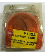 Peterson Surface Mount Clearance Side Amber Marker Light for RV V102A - $9.89