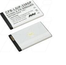 New LGIP-330GP Battery 500mAh For Lg KS360 KT520 KF300 KM380 GM210 KF240 GT365 - $6.30