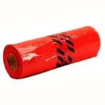 "Warp's Red Safety Flags 18"" x 18"" -500 per Roll"