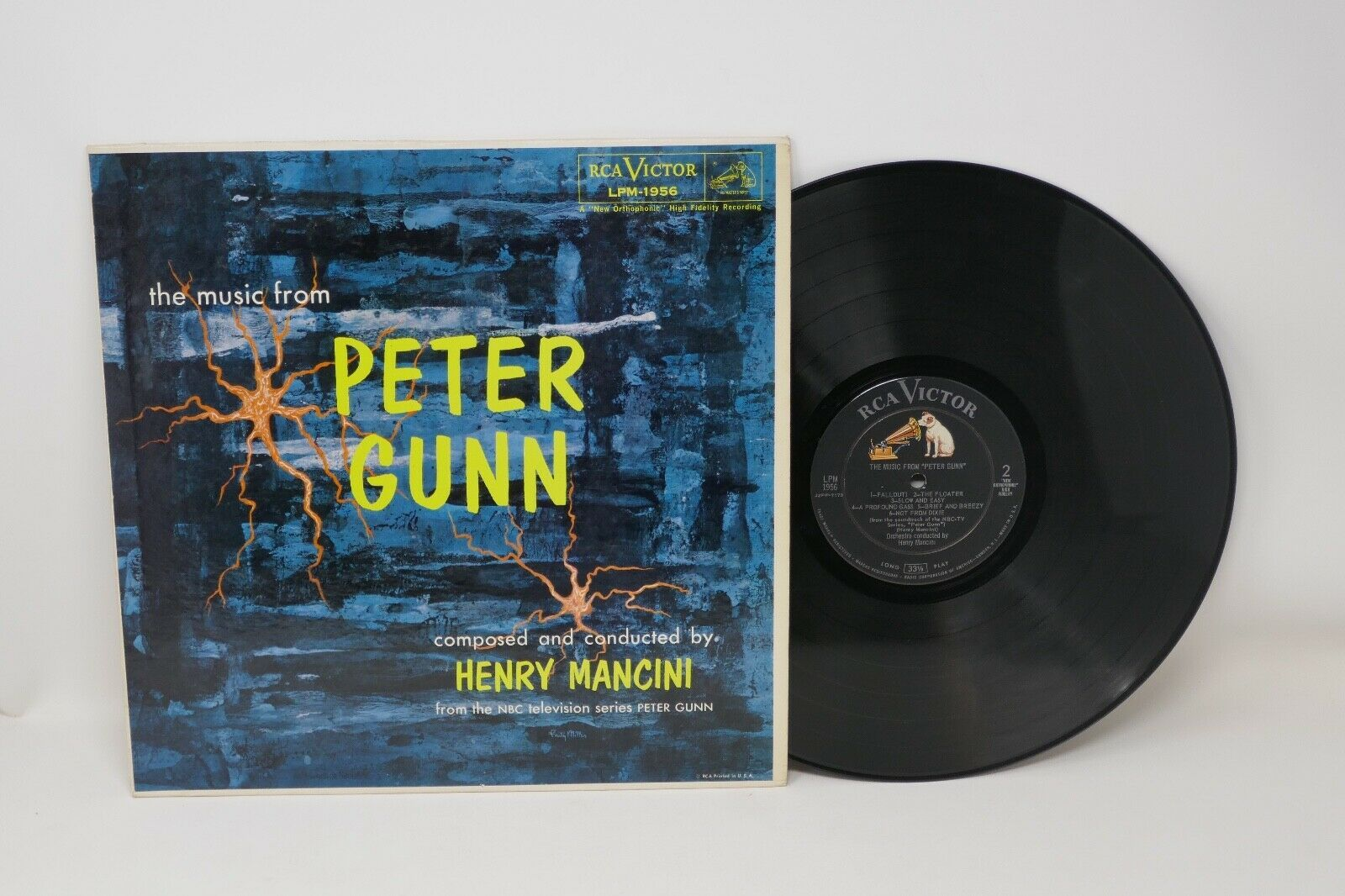 "RCA The Music From Peter Gunn by Henry Mancini 12"" LP Vinyl Record"