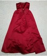 Michaelangelo Women's Formal Dress ~ Long ~ Sz 6 ~ Red ~ Strapless - $44.54