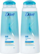 (2) DOVE NUTRITIVE Volume Lift Shampoo For Fine Flat Hair 13.52 Oz Discontinued - $20.78