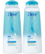 (2) DOVE NUTRITIVE Volume Lift Shampoo For Fine Flat Hair 13.52 Oz Disco... - $20.78