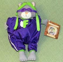 "HALLMARK FLAPS Flying Squirrel 1998 Story Book Friends Plush 12"" Crayola... - $14.03"