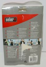 Weber 6474 Grilling Apron Cotton One Size Fits Most Color Black image 7