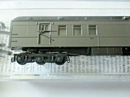 Micro-Trains # 14000001 Undecorated Dark Pullman Green Heavywight RPO Car (N) image 2