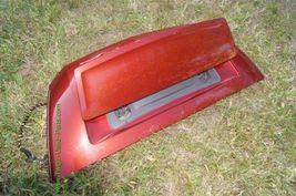 Chrysler Crossfire Convertible Rear Trunk Deck Panel Lid W/ Active Spoiler image 11