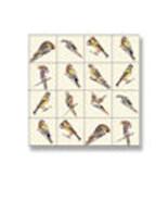 DOLLHOUSE MINIATURES 1:12 SCALE 1PC PICTURE MOSAIC TILE SHEET #WM34881 - $2.50