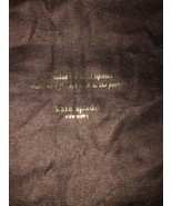 KATE SPADE Cool Chocolate Boot Bag - $9.90