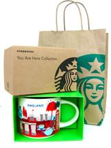 Starbucks England YAH You Are Here Mug Brand New in Box, SKU - $55.43